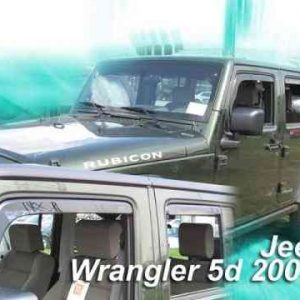 Deflettori aria – Jeep Wrangler JK 2 porte