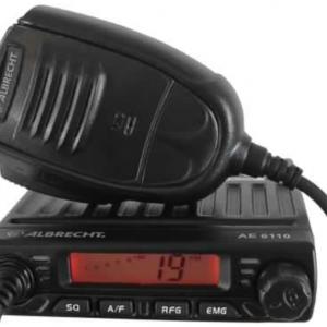 Kit Radio CB Albrecht AE 6110 + Antenna Sirio