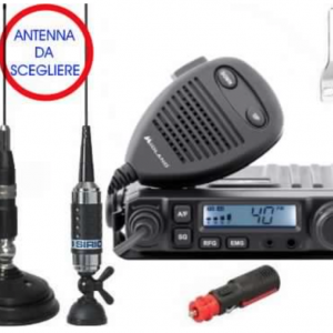 Kit Radio CB Midland M-Mini + Antenna Sirio