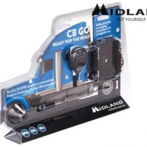 Kit Radio CB Midland M-Mini – CB-GO