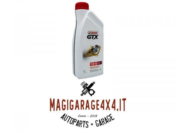 Olio Castrol GTX 15w40 1L