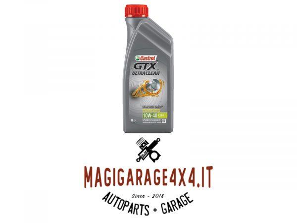 Olio Castrol GTX Ultraclean 10w40 1L