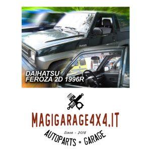 Deflettori aria – Daihatsu Feroza