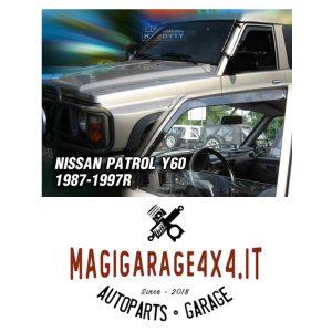 Deflettori aria – Nissan Patrol GR Y60