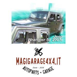 Deflettori aria – Jeep Wrangler JK