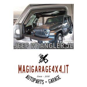 Deflettori aria – Jeep Wrangler JL
