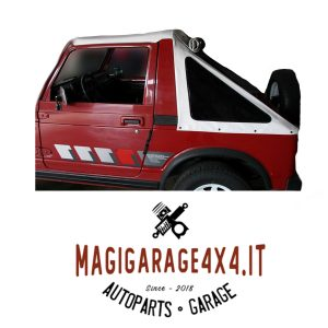 Cappottina / Soft Top / Fastback 45° vetri scuri – Suzuki SJ/Samurai