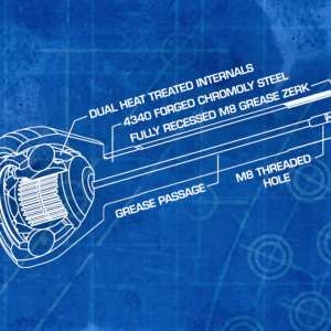 Kit giunti e semiassi Longfield super rinforzati – Toyota HDJ 80/ FJ80