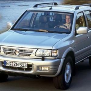 Deflettori aria – Opel Frontera B 5 porte