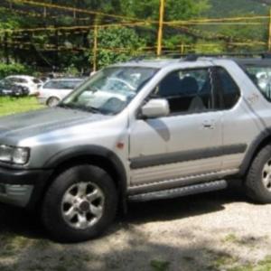 Deflettori aria – Opel Frontera B 3 porte