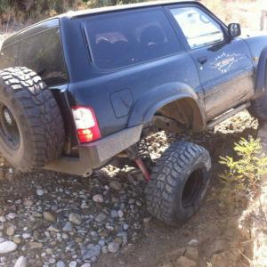 Kit rialzo + 10/12cm extreme trial – Nissan Patrol GR Y61